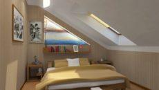 Спальня на мансарде — создание уютной комнаты под крышей