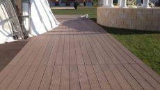 Террасная палубная доска из ДПК Salix