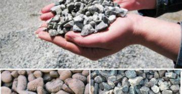 Гравий и щебень – отличия, добыча и область применения материалов