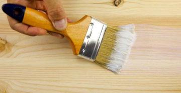 Чем красить дерево – выбор и правильное применение лакокрасочных материалов