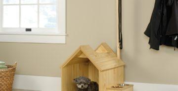 Дом для собаки – уютное жилище для комнатного любимца
