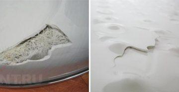 Ремонт акриловых ванн в домашних условиях – как вернуть первозданную белизну