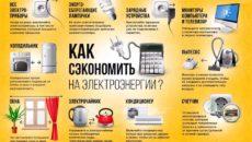 Экономия электроэнергии – меняем лампы и используем бытовые приборы эффективно