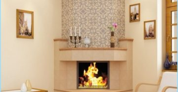 Огнеупорная плитка для печи – красивый декор для камина