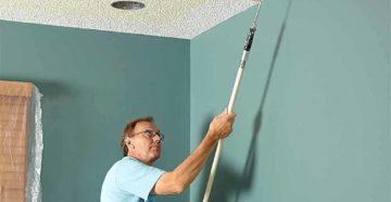 Какая водоэмульсионная краска лучше и чем покрасить потолок в квартире