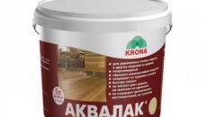 Лак для деревянного и бетонного пола: виды, характеристики и цены