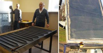 Воздушный солнечный коллектор — самостоятельный монтаж
