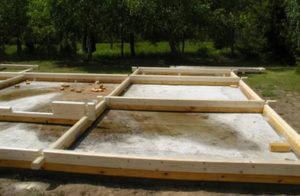 Материалы, используемые для строительства фундаментов