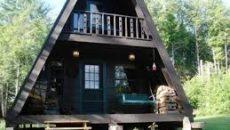 Дом-шалаш для отдыха