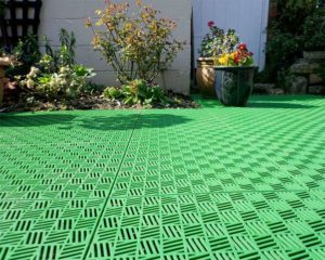 Пластиковые модульные покрытия для садовых дорожек