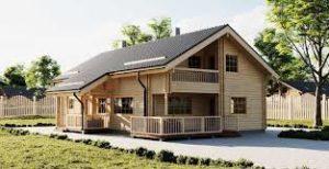 Каркасные одноэтажные дома