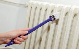 Как выбрать краску для радиатора отопления