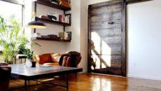 Двери в стиле шале