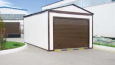 Строим гараж из сэндвич-панелей