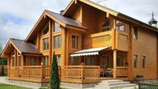 Деревянные дома из бруса: удобство и комфорт