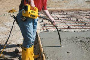 Уплотнения бетона