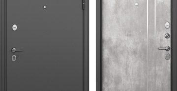 Стальные входные двери